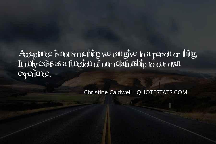 Christine Caldwell Quotes #859659