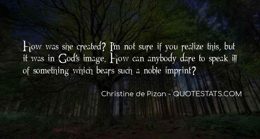 Christine De Pizan Quotes #1008091