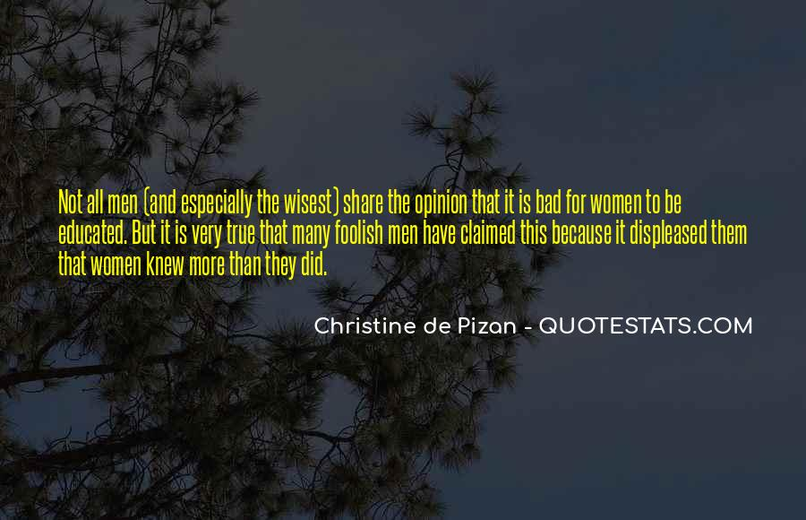 Christine De Pizan Quotes #1087836
