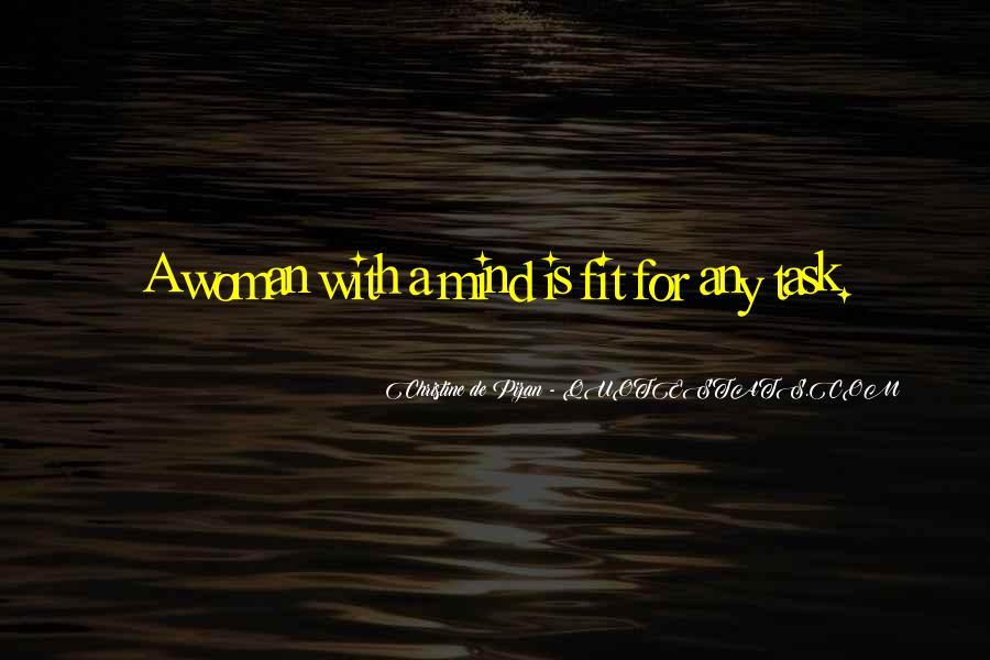 Christine De Pizan Quotes #1395800