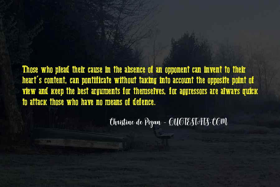 Christine De Pizan Quotes #1818124