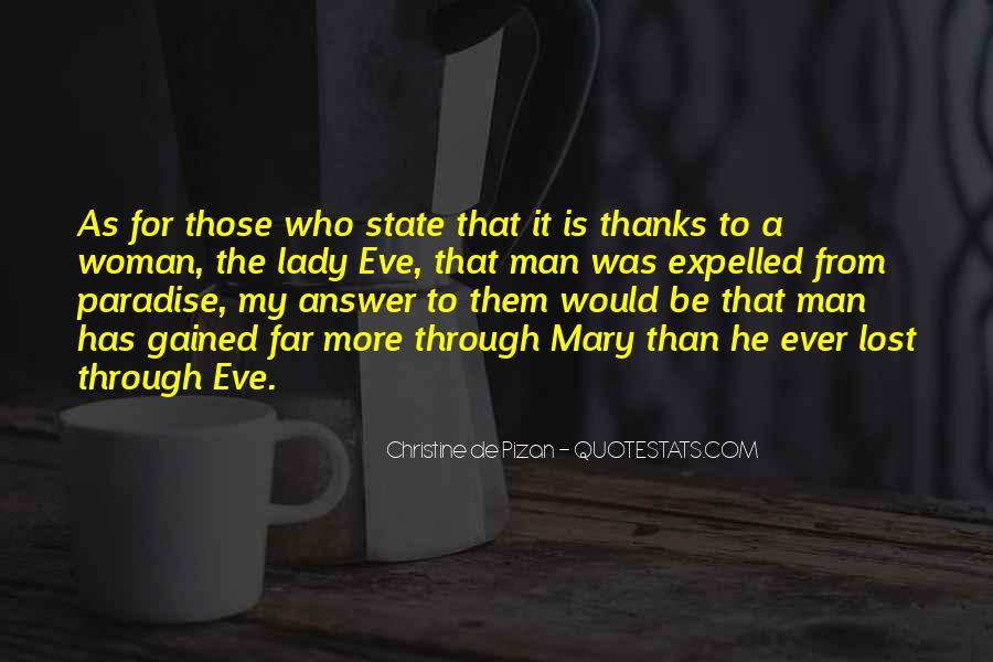 Christine De Pizan Quotes #334772