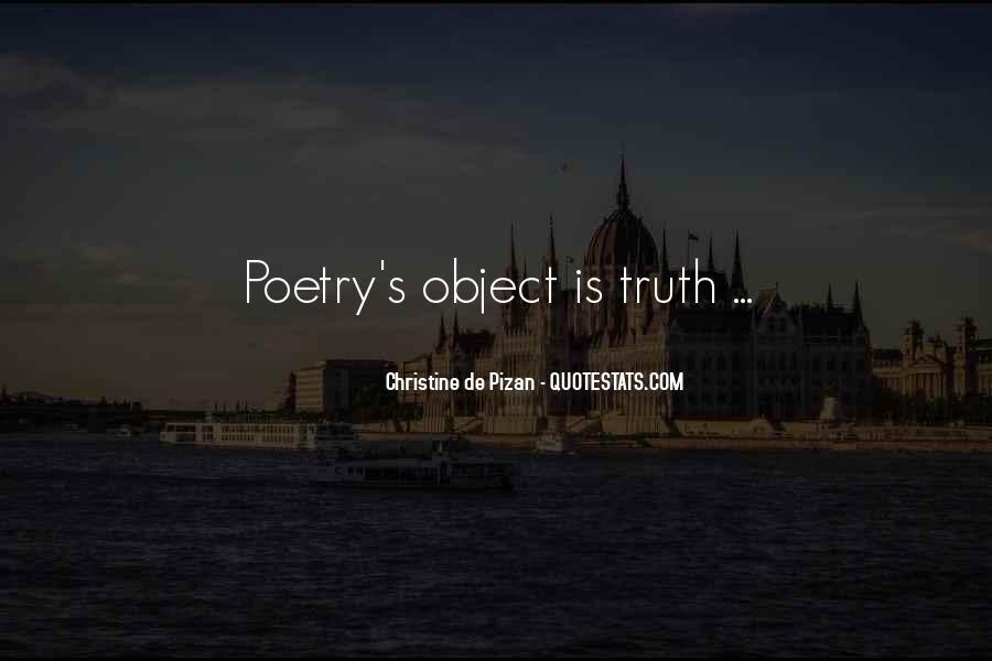Christine De Pizan Quotes #879791