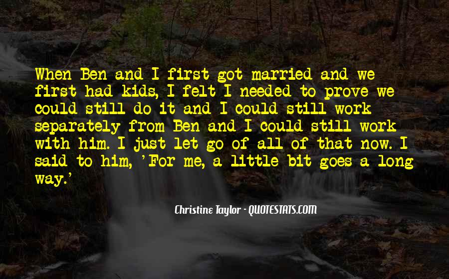 Christine Taylor Quotes #1473940