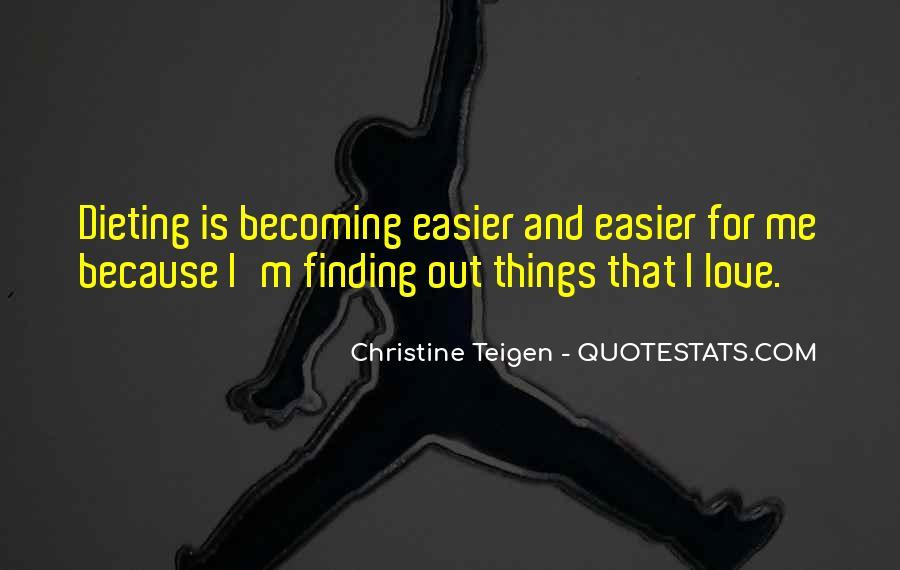 Christine Teigen Quotes #157005