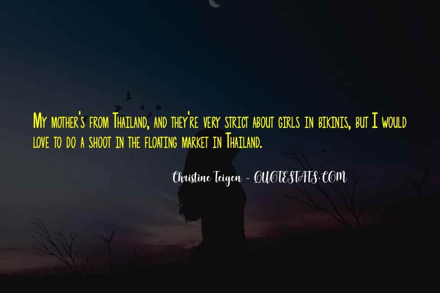 Christine Teigen Quotes #402203