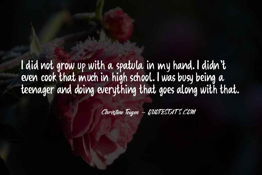 Christine Teigen Quotes #523490