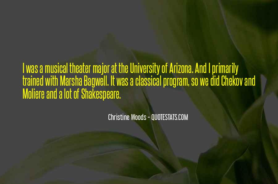 Christine Woods Quotes #717451