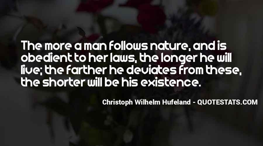Christoph Wilhelm Hufeland Quotes #1099976