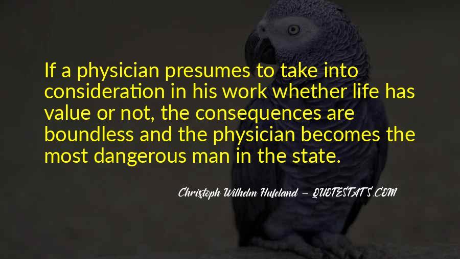 Christoph Wilhelm Hufeland Quotes #1864959