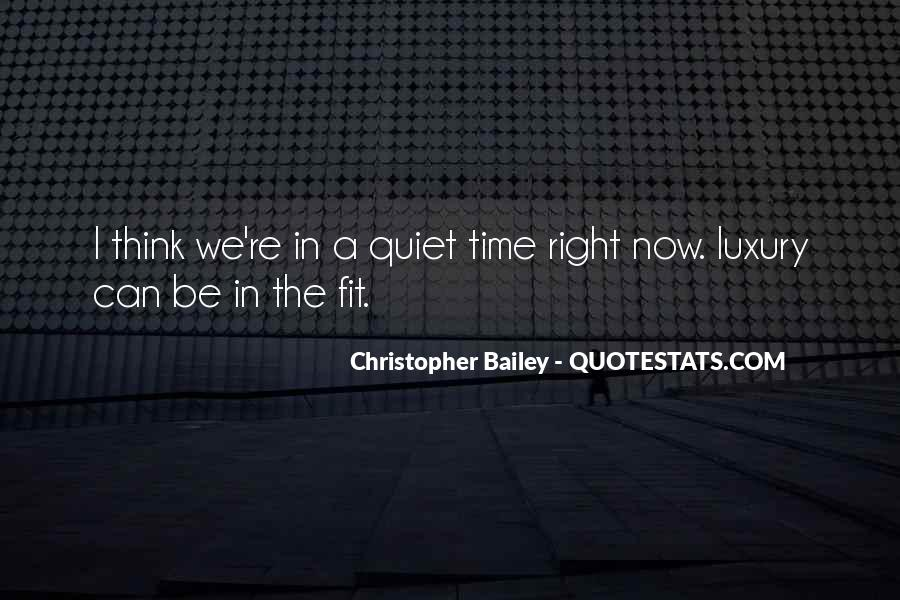 Christopher Bailey Quotes #159113