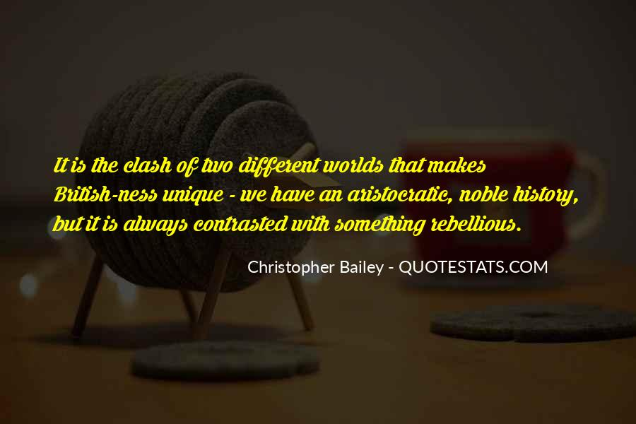Christopher Bailey Quotes #250888
