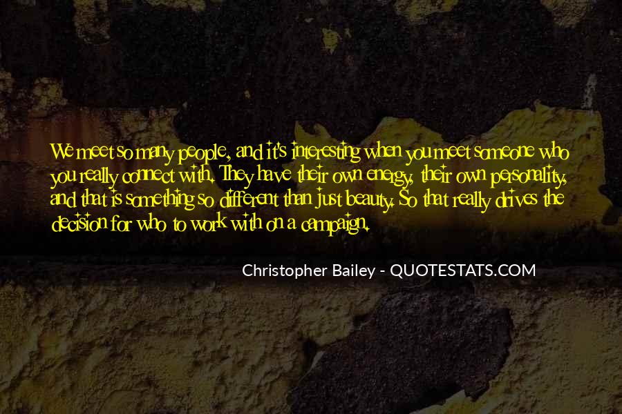 Christopher Bailey Quotes #796084