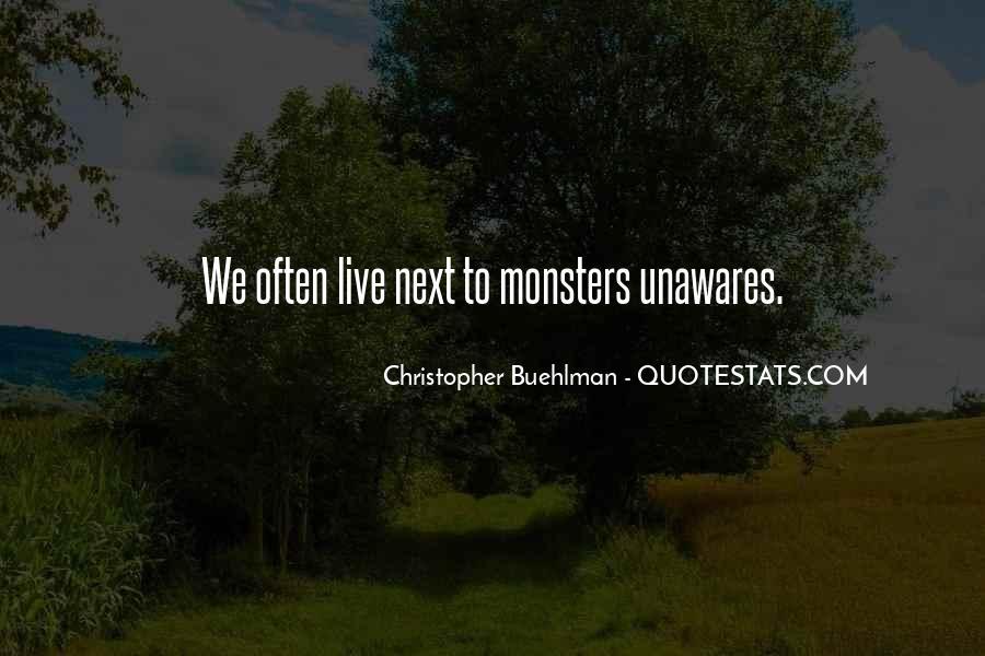 Christopher Buehlman Quotes #1533261