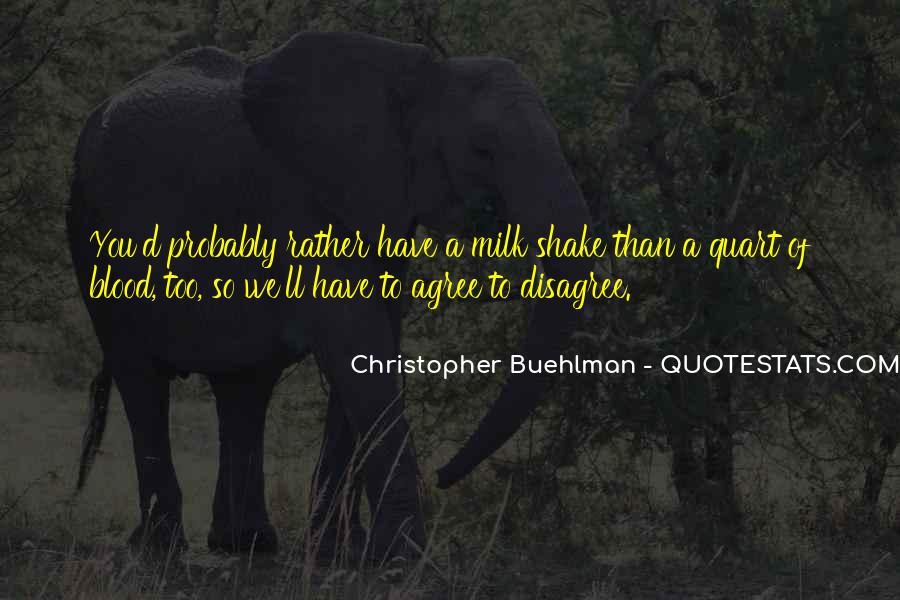 Christopher Buehlman Quotes #668312