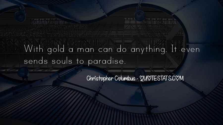 Christopher Columbus Quotes #1022071