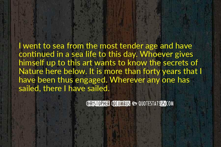 Christopher Columbus Quotes #1225630