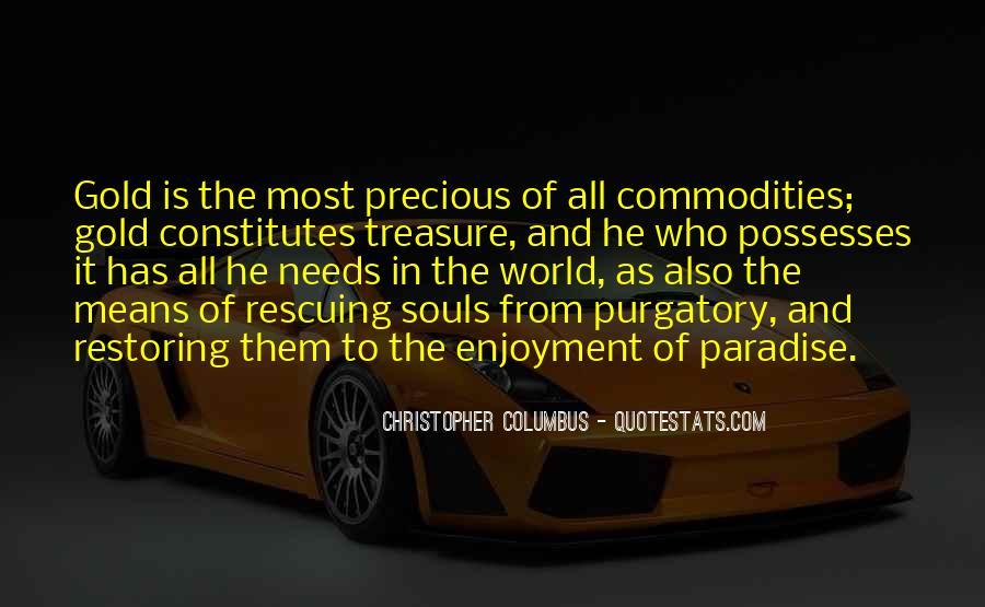 Christopher Columbus Quotes #1373270