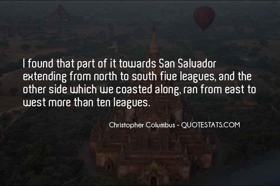 Christopher Columbus Quotes #1572777