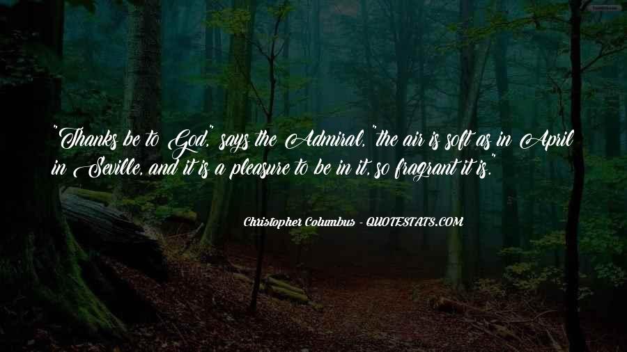 Christopher Columbus Quotes #1631717
