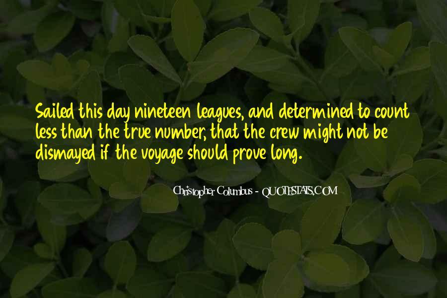 Christopher Columbus Quotes #1637454