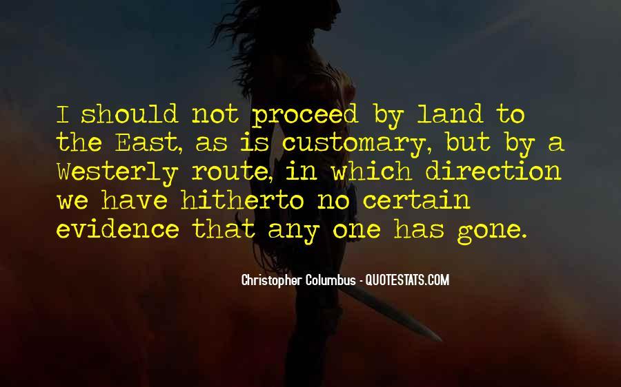 Christopher Columbus Quotes #1676354