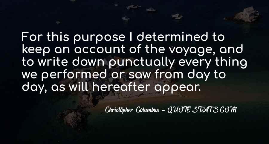 Christopher Columbus Quotes #1711813