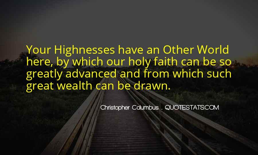 Christopher Columbus Quotes #175714