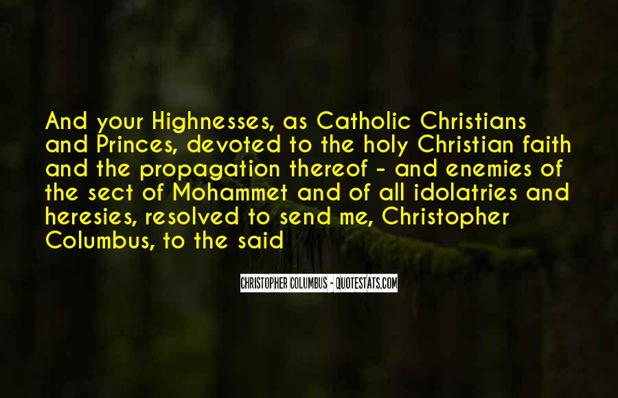 Christopher Columbus Quotes #177828
