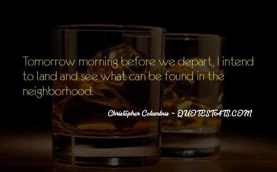 Christopher Columbus Quotes #280008