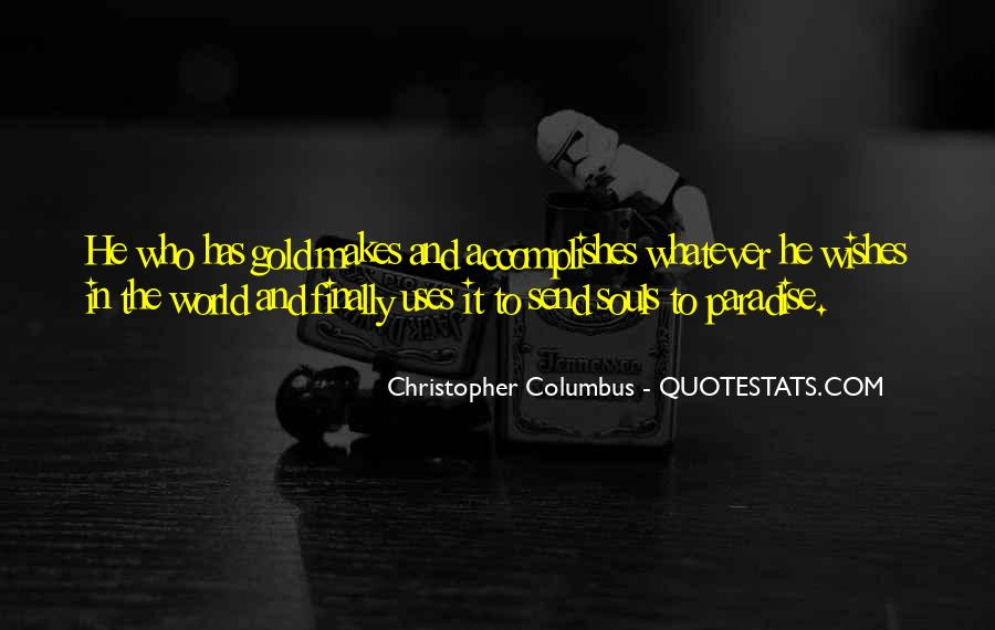 Christopher Columbus Quotes #359856