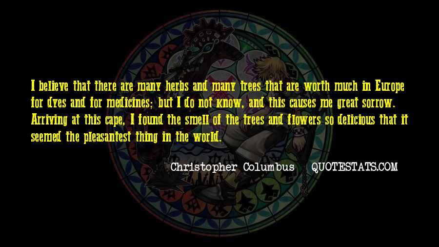 Christopher Columbus Quotes #602452