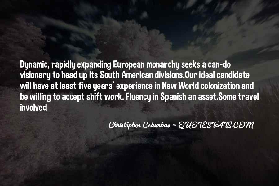 Christopher Columbus Quotes #731471