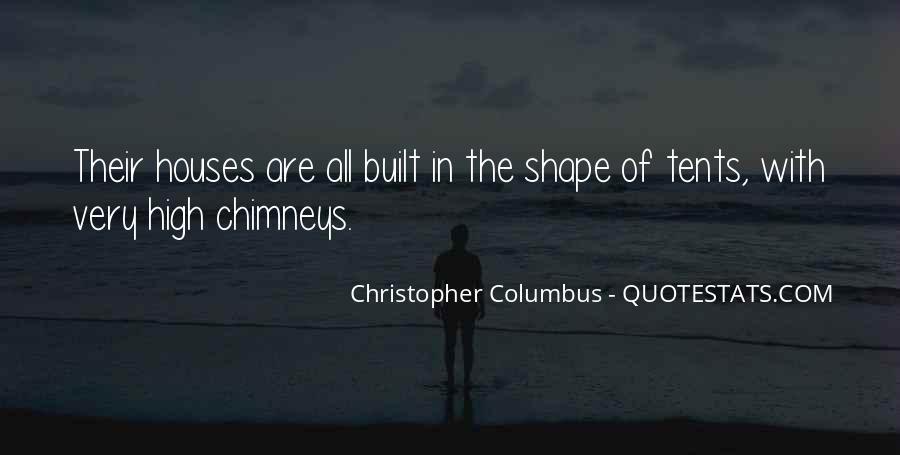 Christopher Columbus Quotes #862597