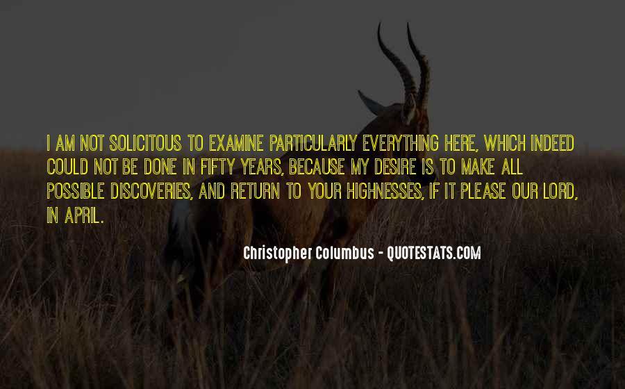 Christopher Columbus Quotes #88912