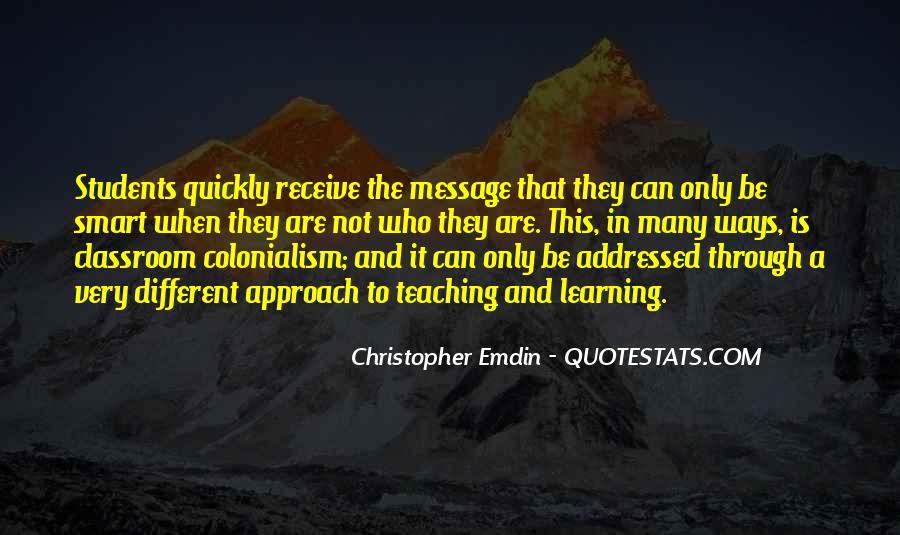 Christopher Emdin Quotes #316579