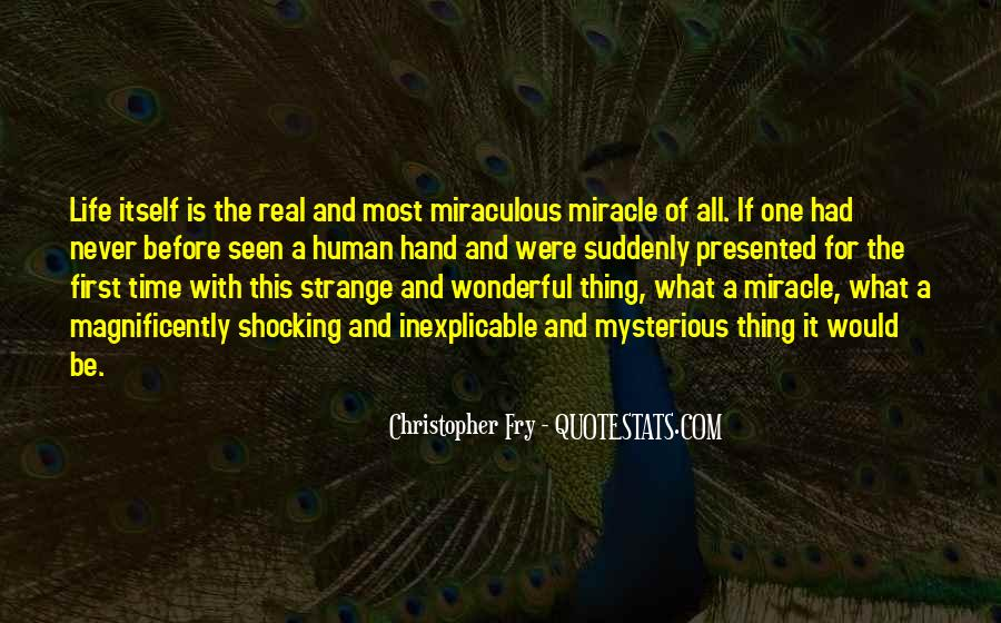 Christopher Fry Quotes #353927