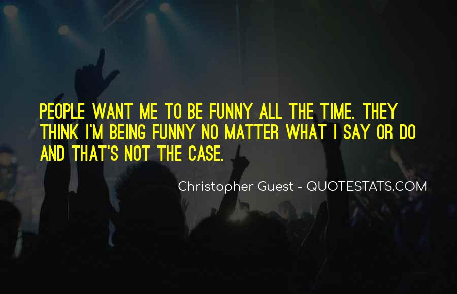 Christopher Guest Quotes #21703