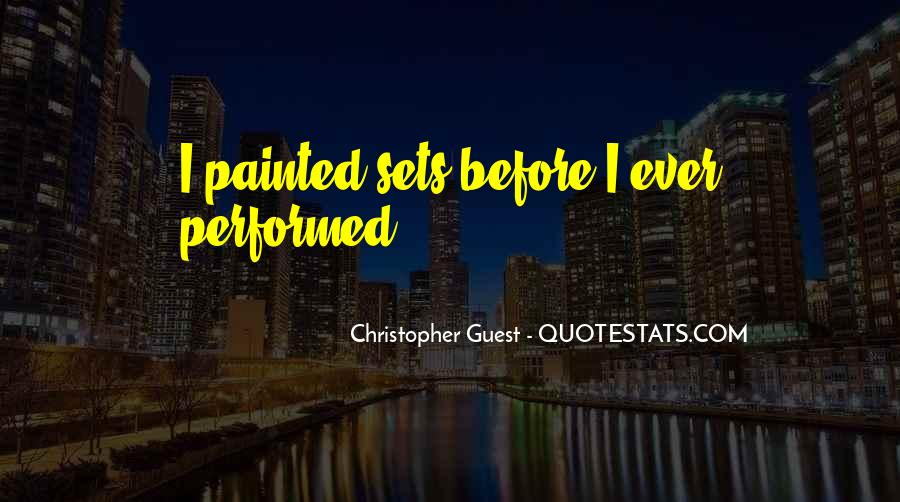 Christopher Guest Quotes #546915