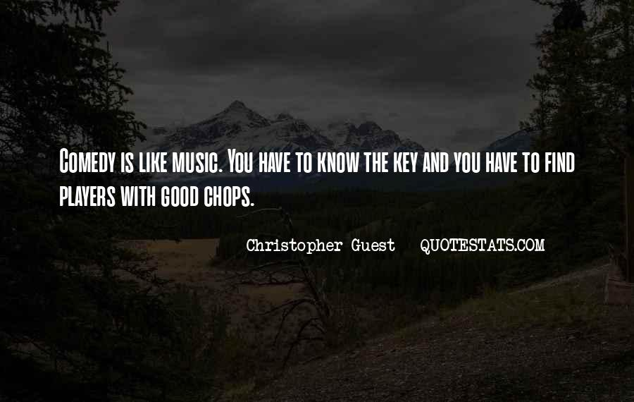 Christopher Guest Quotes #839810