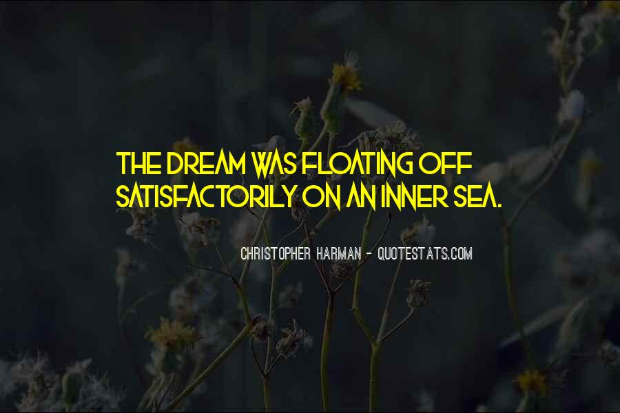 Christopher Harman Quotes #982208