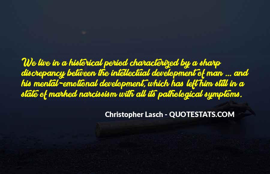 Christopher Lasch Quotes #1229212