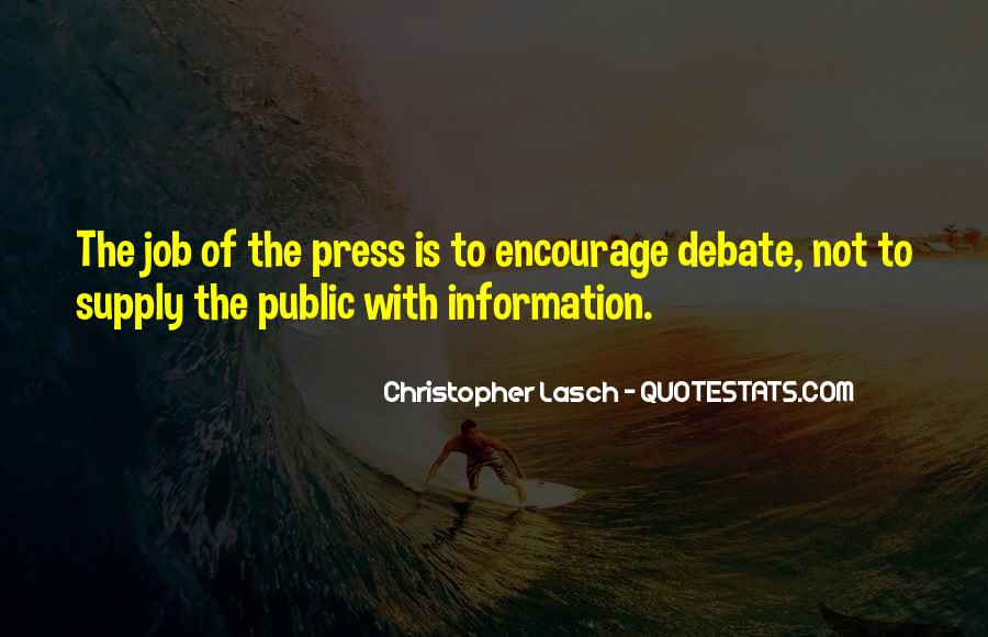 Christopher Lasch Quotes #1302030