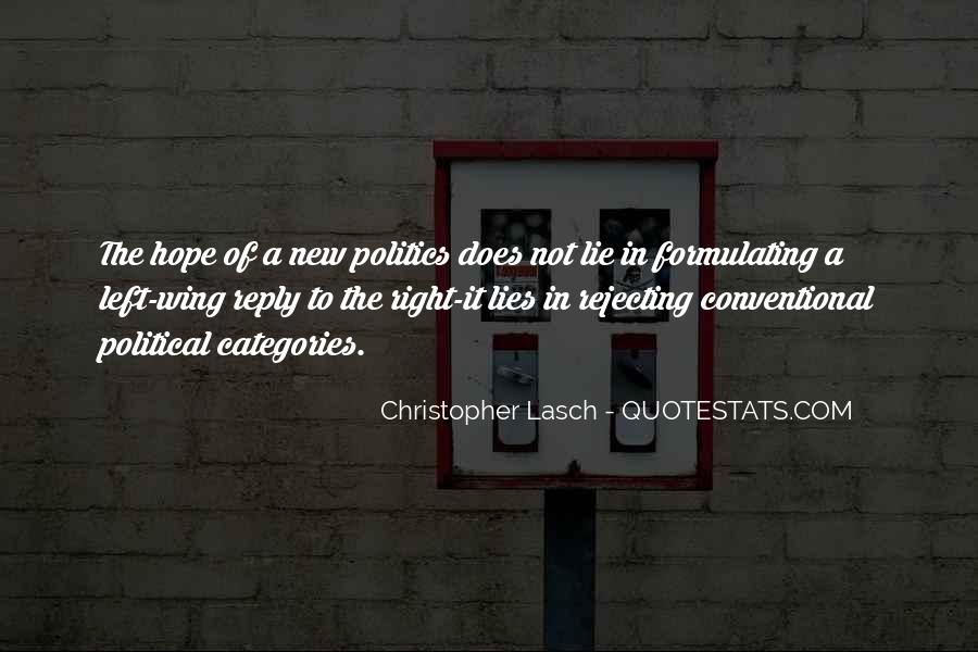 Christopher Lasch Quotes #1370553