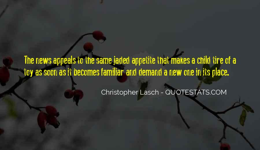 Christopher Lasch Quotes #1379604