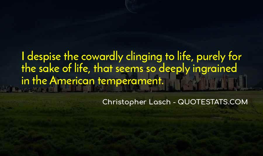 Christopher Lasch Quotes #258914