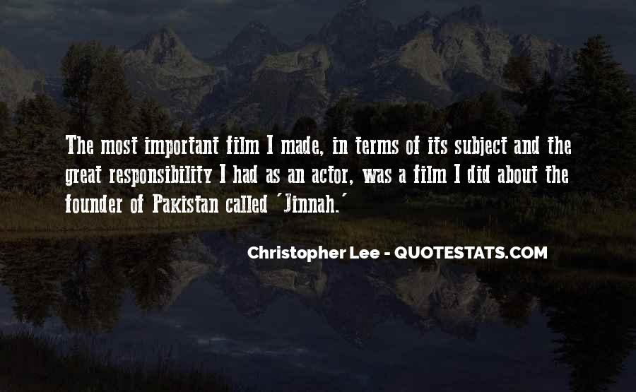 Christopher Lee Quotes #1039099