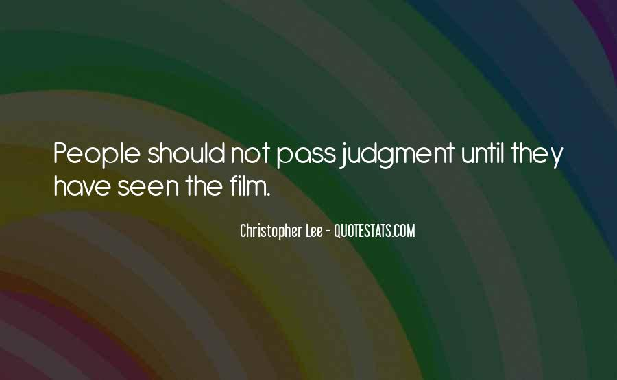 Christopher Lee Quotes #1051929