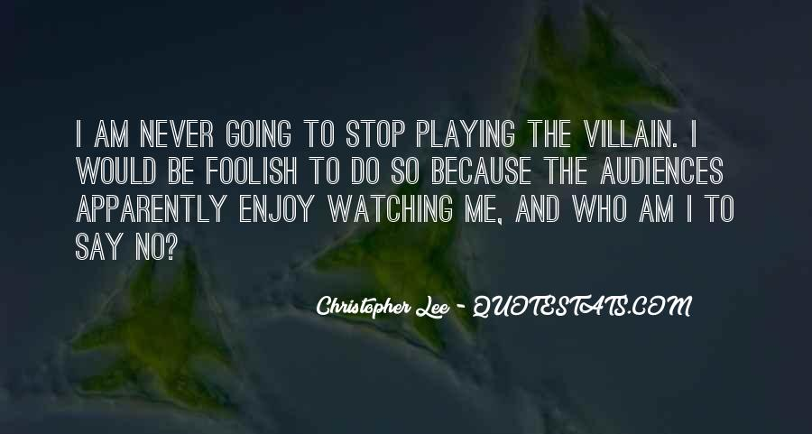 Christopher Lee Quotes #1125273