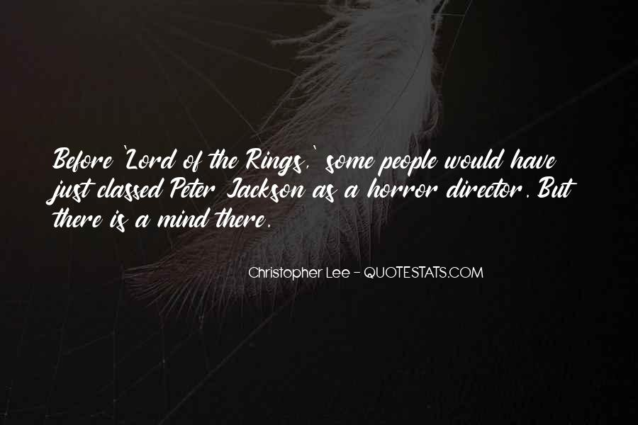 Christopher Lee Quotes #1417003